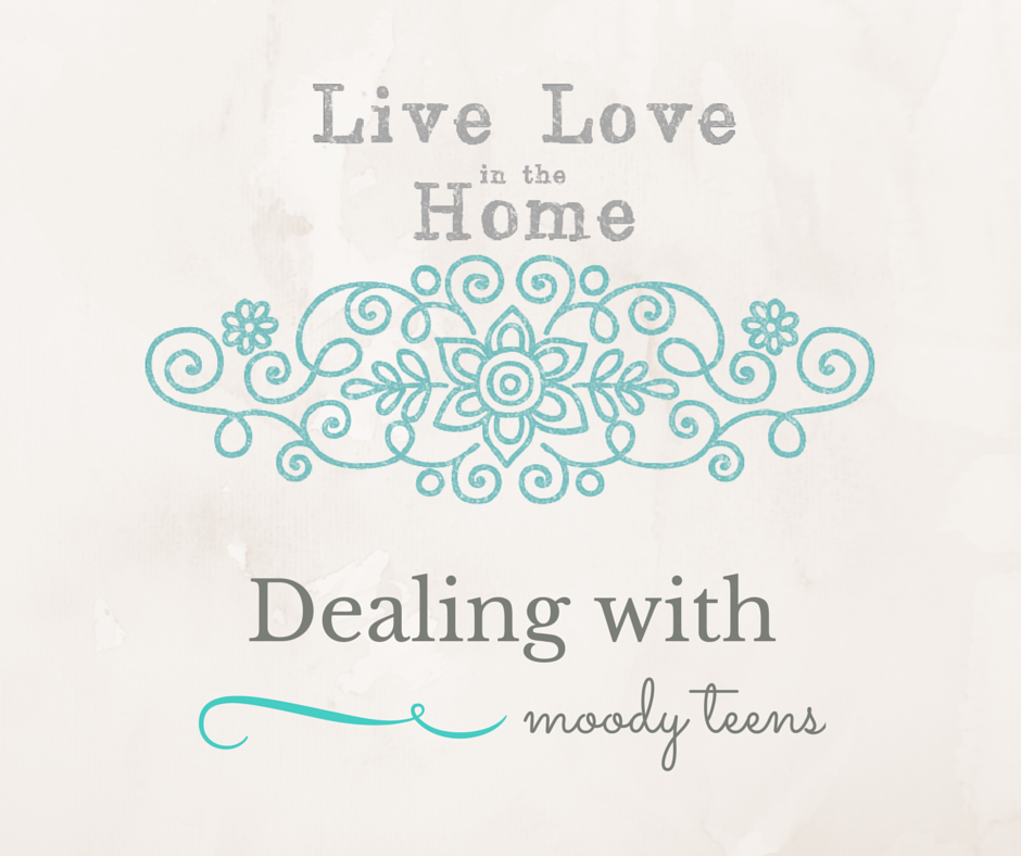 How to Deal with a Moody Teen | Live Love in the Home