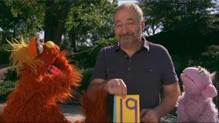 Murray Sesame Street sponsors number 19, Sesame Street Episode 4325 Porridge Art season 43
