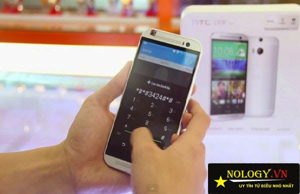 Hướng dẫn test HTC One M9 khi mua