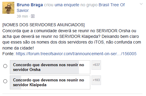 Tree of Savior Server brazilian
