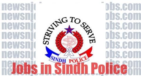 Sindh Police Jr Clerk Jobs 2020