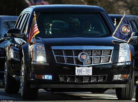 El nuevo coche a prueba de balas de Trump debutará el día de la inauguración