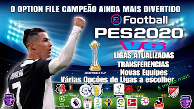 PES 2020 PS4 Compilation Option File V6 DLC 5.0 by Emerson Pereira