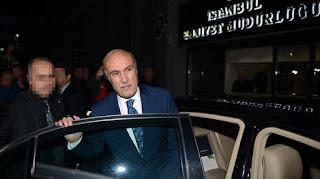 Eski İstanbul Valisi Hüseyin Avni Mutlu'dan sonra eski İstanbul emniyet müdürü Hüseyin Çapkın da tutuklandı