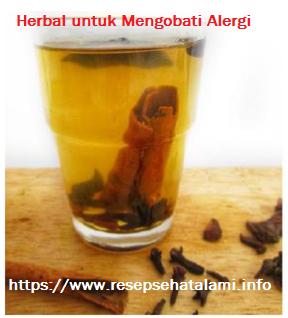 Resep Herbal Untuk Menghilangkan Alergi