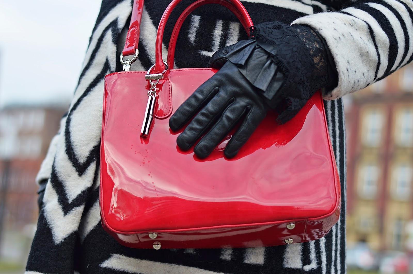 Czerwona torebka, Longchamp
