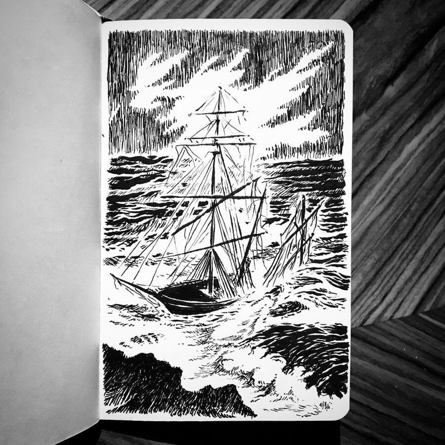 10-A-ship-in-the-storm-Kimmo-Oja-www-designstack-co