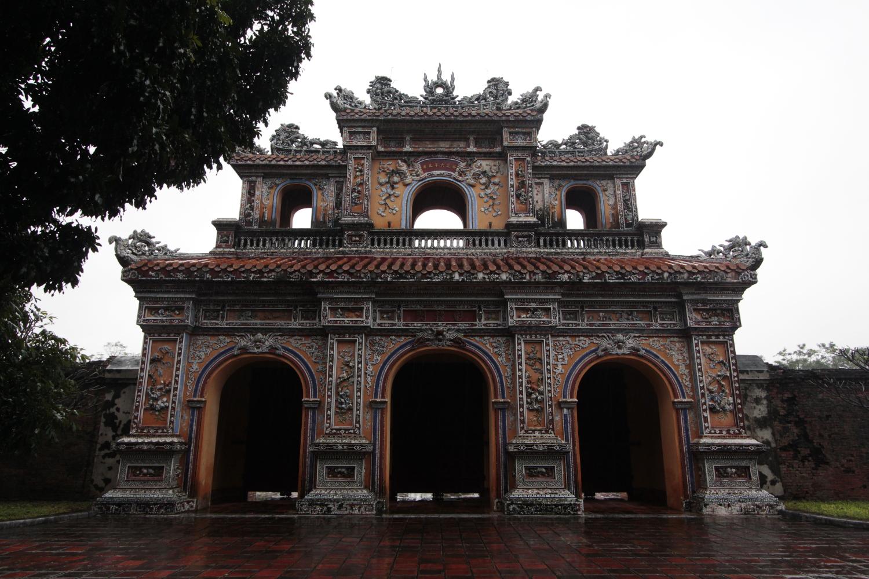 Puerta de la ciudadela de Hue