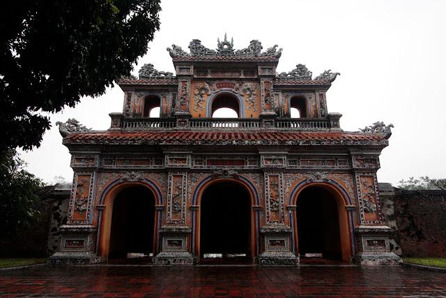 Arco de la ciudadela imperial de Hue