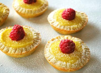 cytrynowe tartaletki, lemon curd tarts