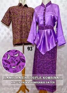 Baju Gamis Batik Couple Murah Edisi Terbaru