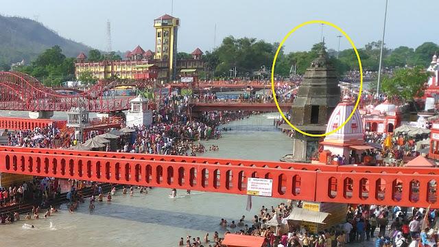 Maan Singh Ki Chhatri Har Ki Pauri Haridwar