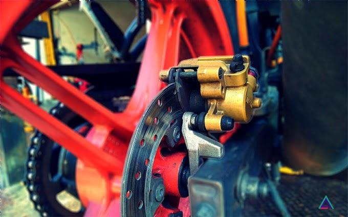 Servis Brake Caliper Motorsikal FZ150i