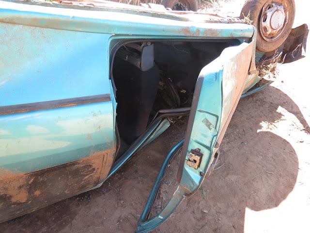 Após furto, veículo é encontrado capotado em canavial às margens de rodovia em Dracena
