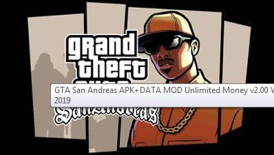 GTA San Andreas APK+DATA MOD Unlimited Money
