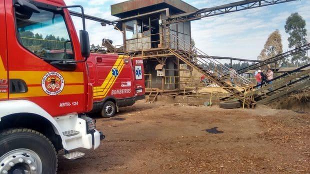 Homem morre em acidente de trabalho na empresa Energia Madeiras em Canoinhas