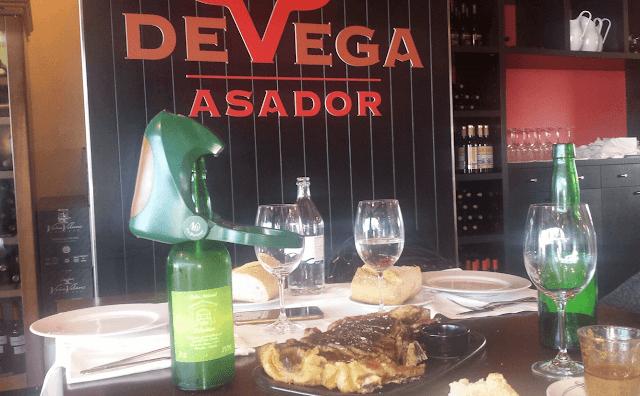 De Vega Asador cocina a la brada de lujo
