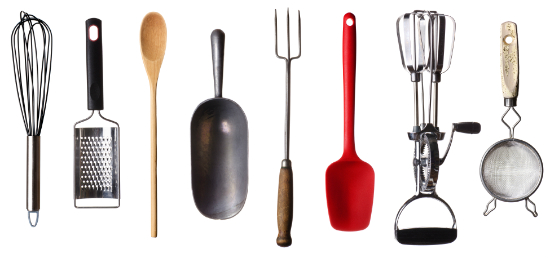 Diffe Types Of Utensils Used In Kitchen