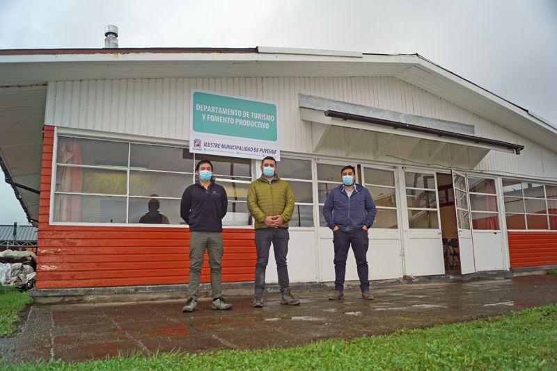 Puyehue: nueva oficina municipal de Turismo y Fomento Productivo