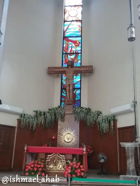 Altar of National Shrine of Saint Jude