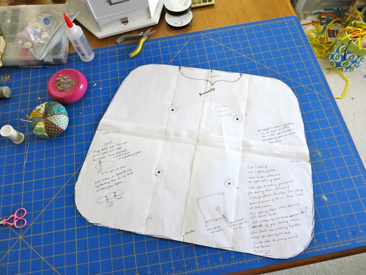 Sewing Patterns For Chair Cushions Posture Seat Car Mmmcrafts Six Only Took Ten Years Now You Make Some