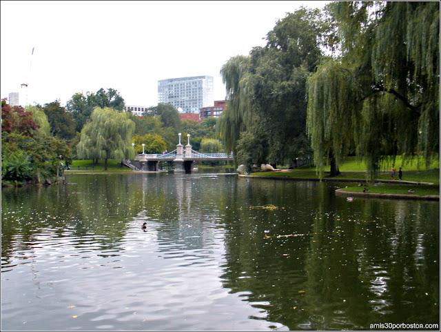 Puente del Boston Public Garden