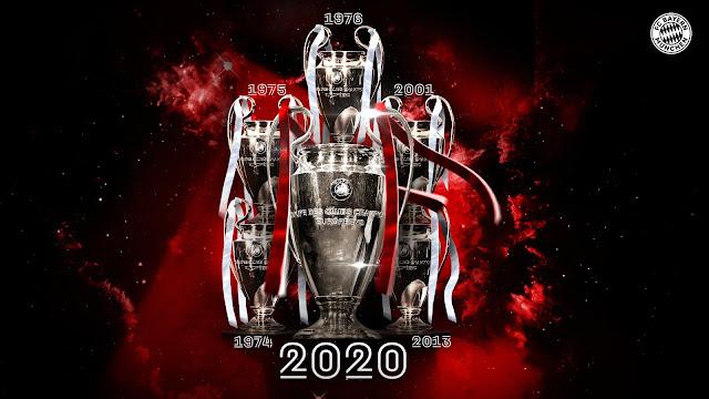 بايرن ميونخ بطلا لدورى أبطال أوروبا 2020