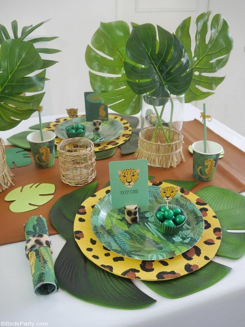 Idées de Fêtes Anniversaire Jungle et Décor DIY