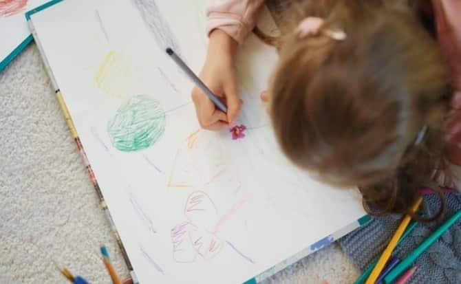 creatividad, dibujos, colores,