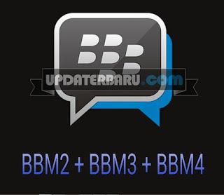 download BBM Mod Clone(BBM2+BBM3+BBM4) Terbaru Versi 3.0.0.18