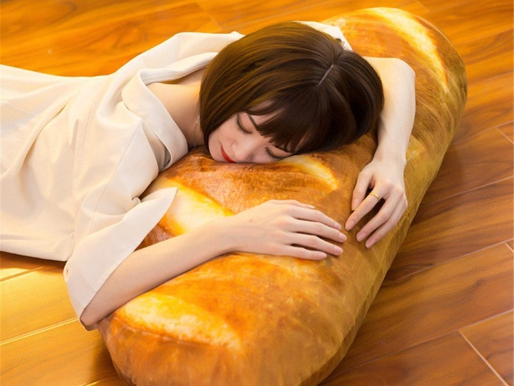 Amazon Is Selling A Huge Bread Pillow Every Carb Lover Will Adore