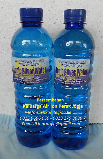 Ionic Water Silver 11