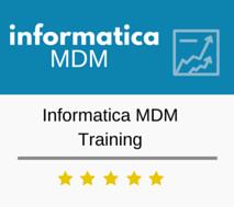 Informatica MDM Training
