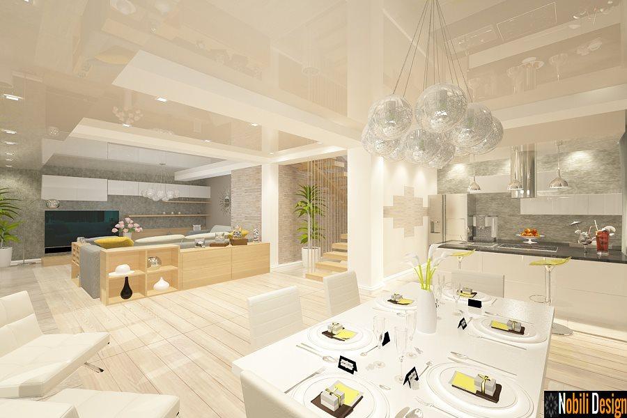 Portofoliu proiect design interior living open space realizat de firma noastra in Constanta.