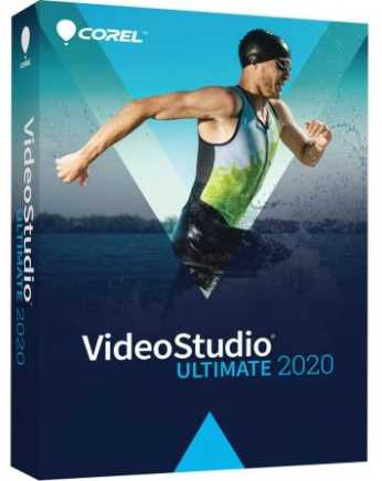 Corel VideoStudio Ultimate 2020 v23.0.1.404 poster box cover