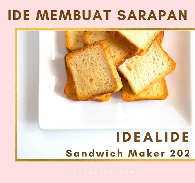Sandwich Maker 202 Idealife