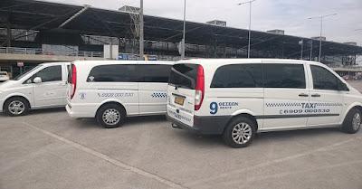 Ταξί βαν στη Θεσσαλονίκη