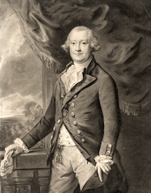 Edward Smith Stanley, 12th Earl of Derby, by George Keating  published by William Austin, after Thomas Gainsborough  mezzotint, published 20 May 1785  © NPG D35034