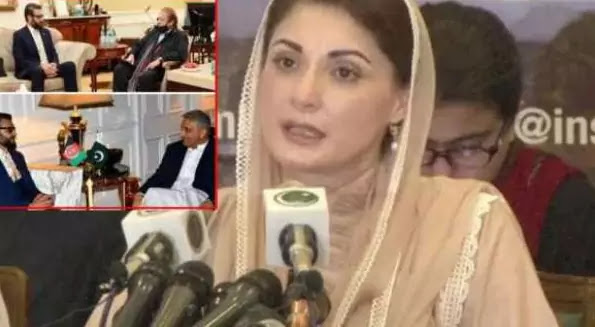 Criticism of Nawaz Sharif's meeting with Afghan leaders Maryam Nawaz also shared a photo with the Army Chief
