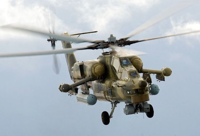 Mil Mi-28UB combat training helicopter