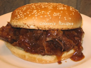 CHUCK ROAST  SLOPPY JOES IN THE CROCK POT