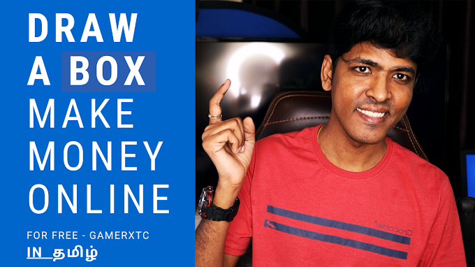 Draw a Box and Make Money Online for Free | Hassle Free Job | In Tamil