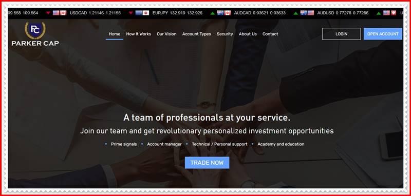 [Мошеннический сайт] parker-cap.com – Отзывы, развод? Компания Parker Cap мошенники!