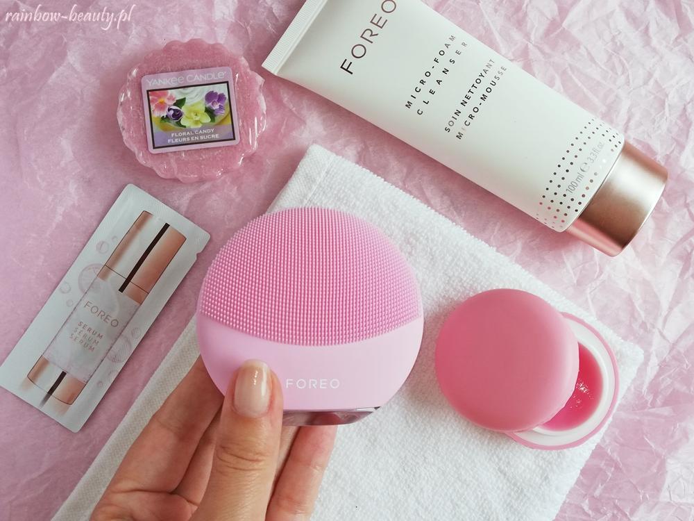 foreo luna mini 3 soniczna szczoteczka do oczyszczania twarzy