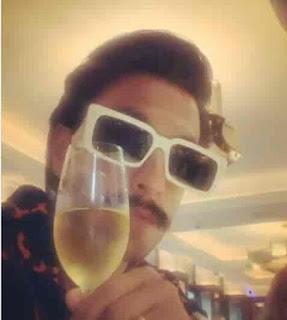 Ranveer Singh Drink
