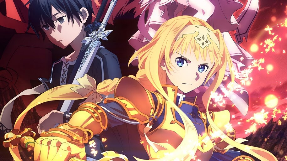 Alice, Kirito, Sword Art Online Alicization, 4K, #4.1820