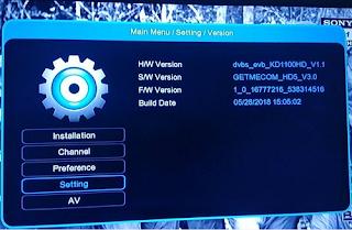New SW Firmware Getmecom HD009 FTA 4MB/8MB and Robocop HD5