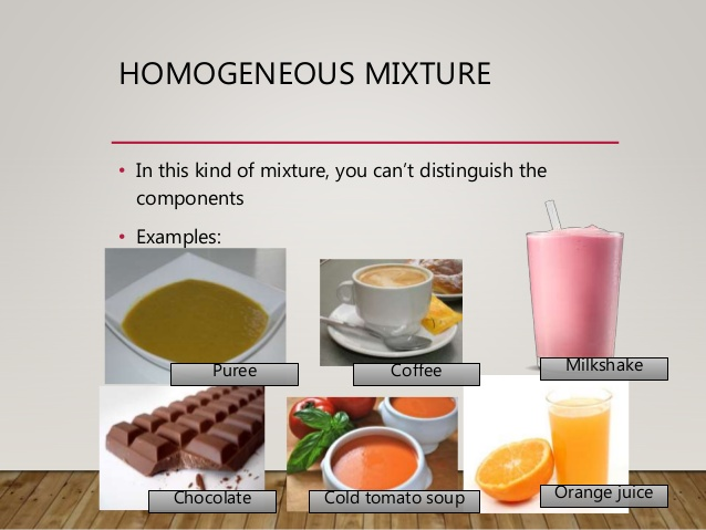 Examples of heterogeneous mixtures image collections example of.
