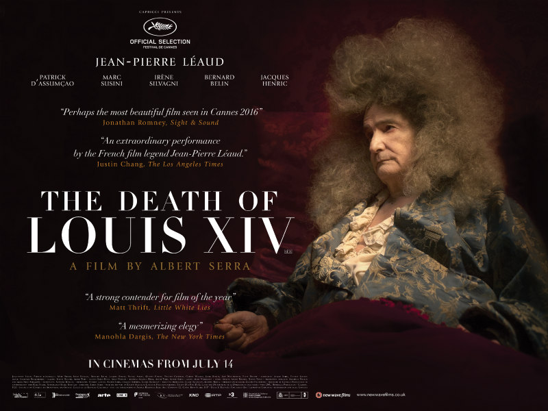 the death of louis xiv uk poster