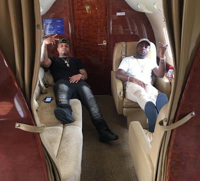 Nigeria singer  Davido and his crew flew on a private jet to Brazzaville, Congo